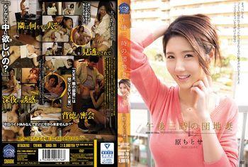 Chitose Hara - 3 P.M. Apartment Wife Chitose Hara. [SHKD-701] (Attackers) [cen] [2016 г.,Big Tits,Blowjob, HDRip] [1080p]