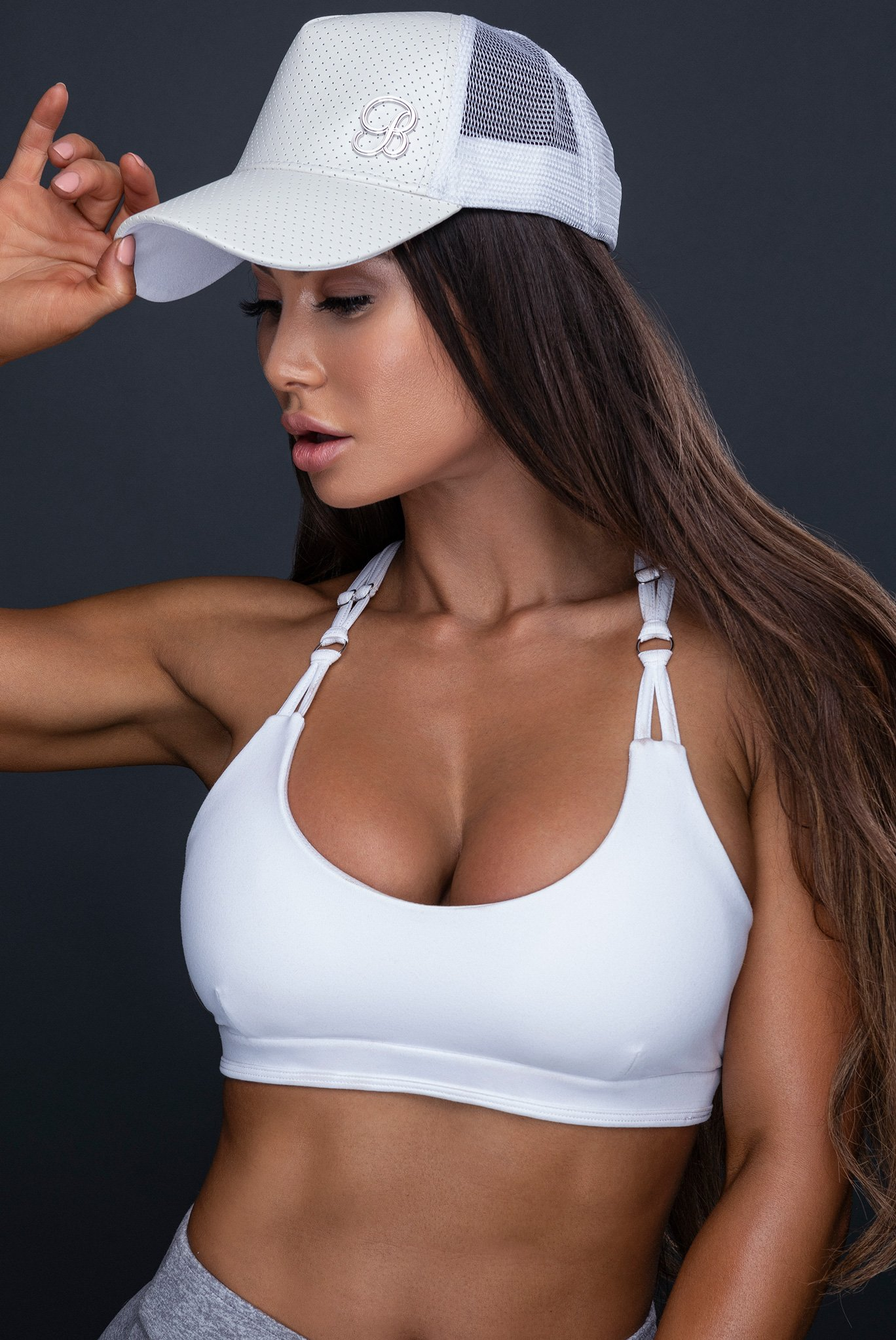 White Trucker Hats