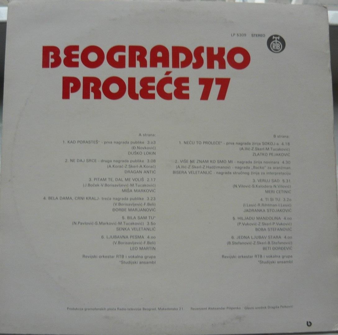 V A Beogradsko prolece 77 b