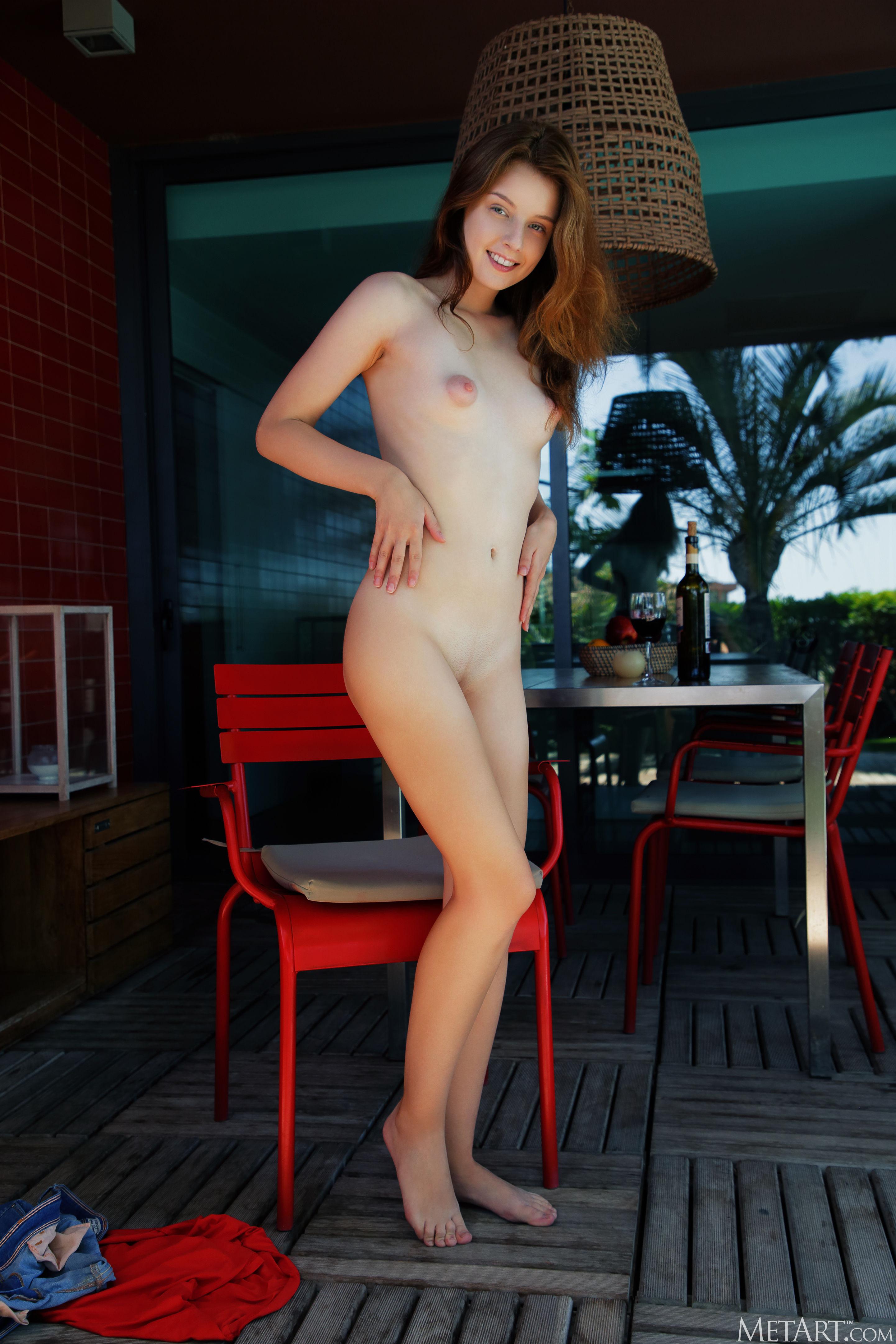 Met Art Patio Chair Sienna high 0091