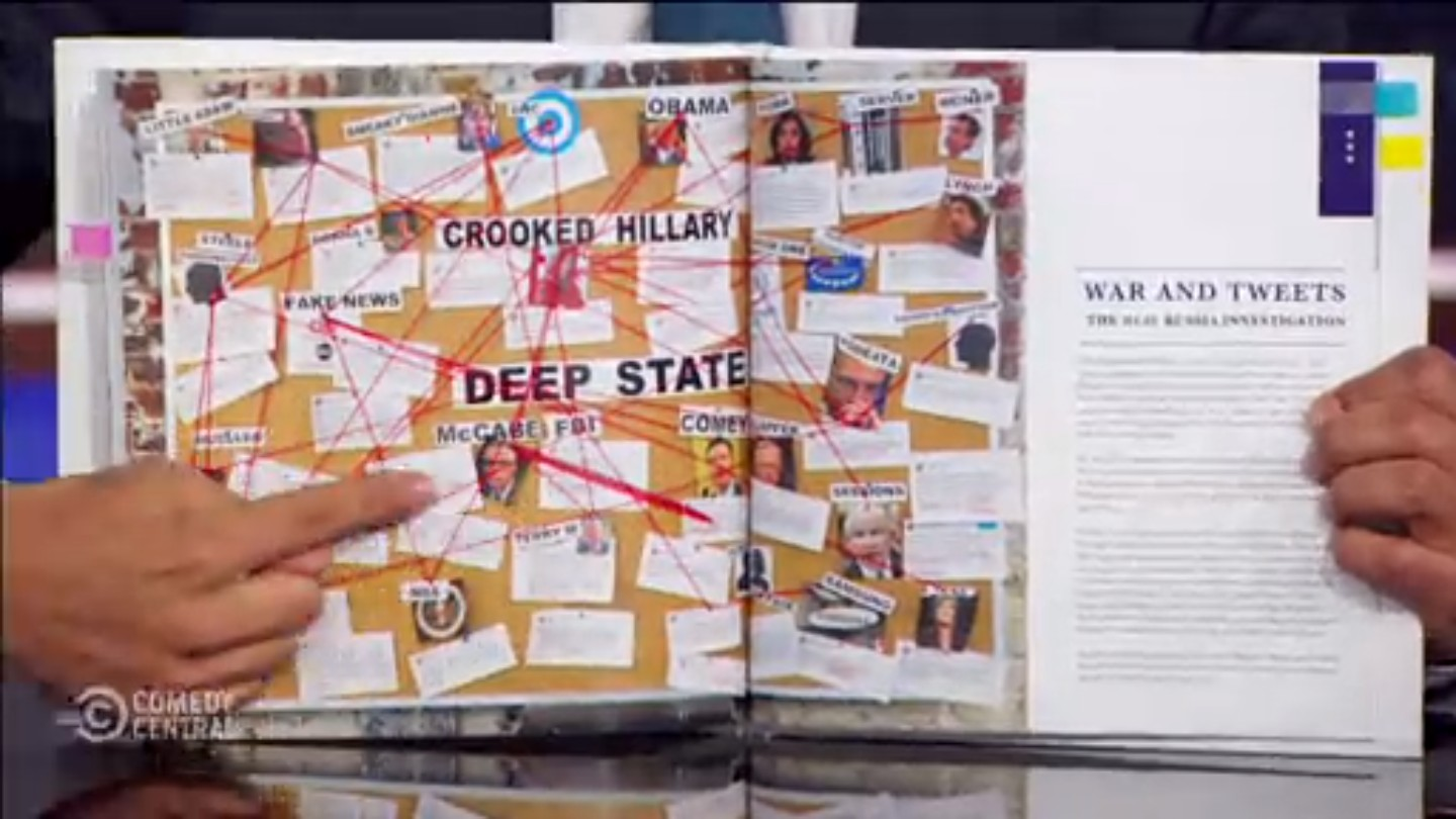 daily show trump twitter library book