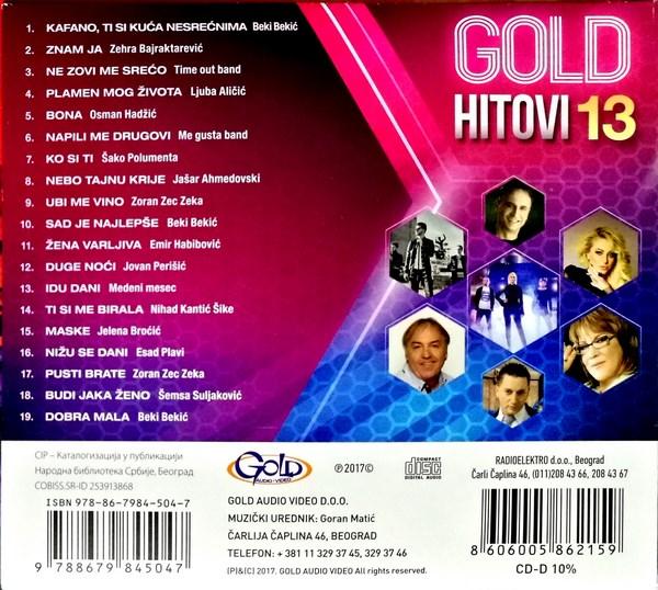 gold 13 b